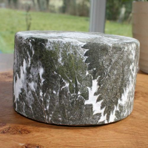 Cornish Yarg Cheese, Cornish Cheese covered in Nettles